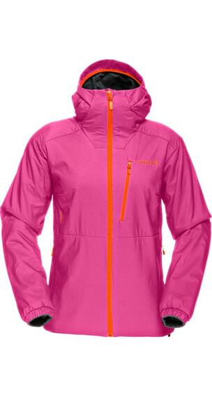 Norrøna W's Lofoten Alpha Jacket Crash Pink